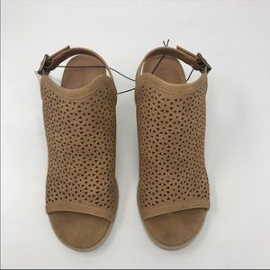 Universal Thread Shoes - Universal Thread Milliana Chestnut Cut Out Booties